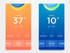 Weather Interface by CChakFung