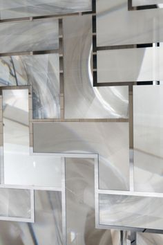 Optical glass tiles - Ateliers Bernard Pictet