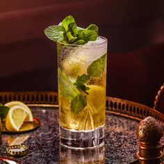 Drambuie Collins - A light, refreshing and tasty serve with simple ingredients, it