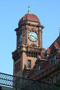 Old Main Street Station Clock in  Richmond, VA