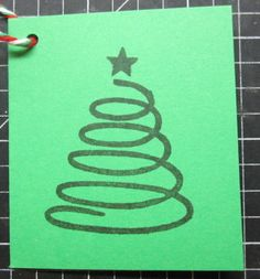 another cute Christmas tree stamp Cute Christmas Tree, Gift Tags, Stamp, Gifts, Presents, Stamps, Favors, Gift, Gift Ideas