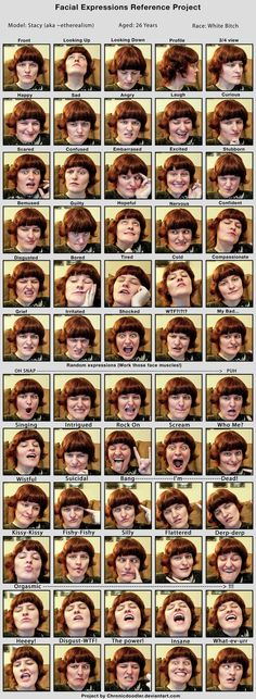 Stacy Facial Expressions by ~etherealism on deviantART