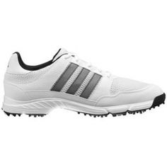 SALE - Mens Adidas Tech Golf Cleats White - BUY Now ONLY $74.99