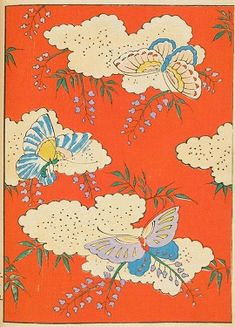 Japanese textile patterns in Shin-bijutsukai magazine, 1901–2.