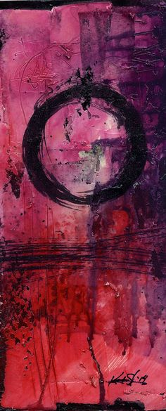 Enso.. Series ... No. mm22.. Original by Kathy Morton Stanion