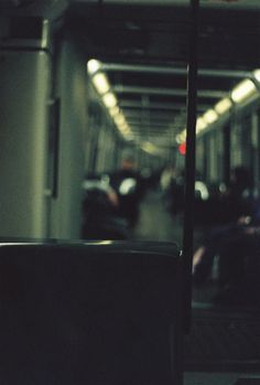 alone in the train. Night Aesthetic, Film Aesthetic, Aesthetic Grunge, Cinematic Photography, Film Photography, Street Photography, Michel Tremblay, Night Time Photography, Dorm Art