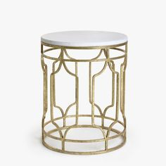 MARBLE TABLE WITH GOLDEN BASE - | Zara Home France