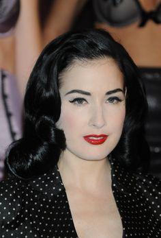 Dita Von Teeses classic hairstyles