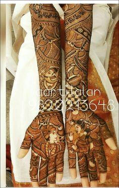 Unique Mehndi Designs, Wedding Mehndi Designs, Beautiful Henna Designs, Latest Mehndi Designs, Mehndi Design Pictures, Mehndi Images, Indian Wedding Mehndi, Mehendhi Designs, Mehndi Desighn