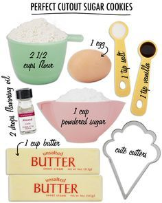 PERFECT CUTOUT SUGAR COOKIES - Layer Cake Shop