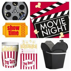 Movie Night Deluxe Party Kit