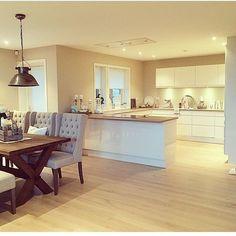 offene Küche – - Diy Home Ideas Küchen Design, Home Design, Modern Kitchen Design, Interior Design Living Room, Living Room Kitchen, Kitchen Decor, Kitchen Ideas, Navigation Design, Resume Design