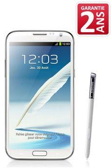 Smartphone GALAXY NOTE 2 BLANC Samsung