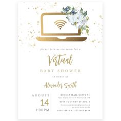 Virtual Baby Shower Invitation | Forever Your Prints