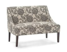With beautiful tapered legs in a warm espresso finish and silver nail head trim, this upholstered Avalon Settee will make an elegant addition to your home. Silver Furniture, Entryway Furniture, Modular Furniture, Cheap Furniture, Bathroom Furniture, Furniture Stores, Wholesale Furniture, Furniture Dolly, Chairs For Sale