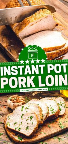An Easter dinner idea prepared in the pressure cooker! A handful of ingredients are all you need to have this Instant Pot Pork Loin ready in 20 minutes. Not only is this recipe so quick and easy, but the flavor is also unbeatable from a rub made out of pantry staples! Easter Dinner, Easter Brunch, Holiday Dinner, Pork Loin, Instant Pot, Delicious Dinner Recipes, Pressure Cooker Recipes, Easter Recipes, Different Recipes