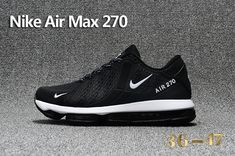 2fbf31494 Nike Air Max 270 Running Shoes Black White on www.kevindurant11.com Nba  Kevin