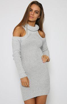 Daniella Dress - Grey
