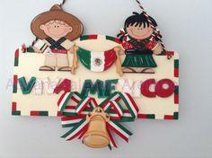MARCO VIVA MEXICO EN MADERA