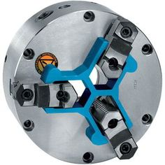 Chuck Stop mounts squarely against chuck face providing a fixed surface for workpieces to locate against. The captive, web-shaped design of Royal Chuck Stop eliminates the dangers of using spacers and parallels that could come loose and be thrown from a spinning chuck.