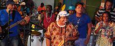 FOTOS (12) + VÍDEO (1) - Geronimo Santana e Banda Mont´Serrat - Escadaria do Passo - Salvador-Bahia-Brasil (10-03-2015)
