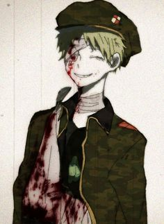 Pixiv Id 257603, Happy Tree Friends, Flippy, Bandage Over One Eye, Military Hat