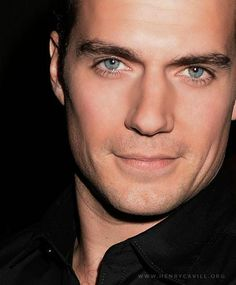 Henry Cavill - I could get lost in those eyes. He is one beautiful man!