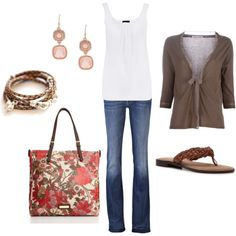 Totally My Style - Casual, created by kristenmycoveredbridge on Polyvore