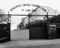1964: St James' Park, home of Newcastle United
