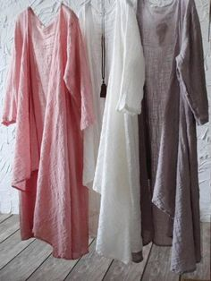 Shop Here For More Loose Casual Linen Dress, Ramie Cotton Dress,Kaftan,National Clothing.Loose Pure Color Cool Cover-up Boho Outfits, Spring Outfits, Cute Outfits, Fashion Outfits, Tunic Sewing Patterns, Wrap Cardigan, Linen Dresses, White Fashion, Capsule Wardrobe