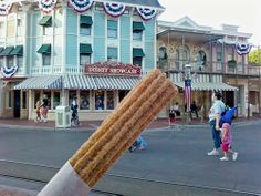 disneyland churros.  Soooo good.  :)