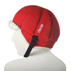 The all new premium original Harris Red Medium Ribcap, Impact resistance, extra protective beanie cap Men's Fashion -- For more information, visit image link.