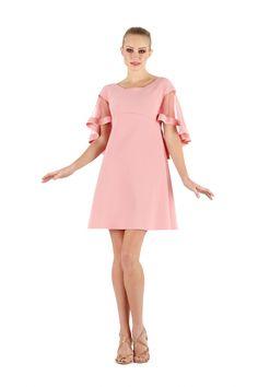0332d9725ee4 Jason Organza Dress size 40 Rose Quartz