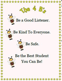 Kindergarten Bee Theme | Back To School Lesson Plans for the First Week