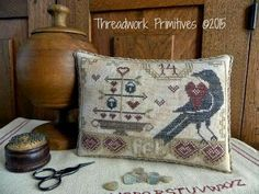 Threadwork Primitives- brand new from Nan- Beggar's Valentine!