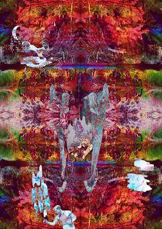 Stephen Mellor :: MixedMedia - MAIYA - MY ADVENTURE IS YOUR ADVANTAGE :: ART / DESIGN / FASHION / DECOR