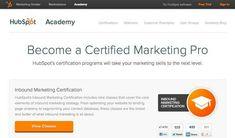 https://academy.hubspot.com/certification