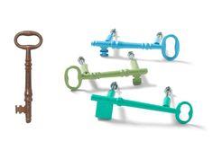 alte Schlüssel werden zu Schubladengriffen