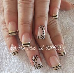 Nails Nail Art Hacks, Easy Nail Art, Perfect Nails, Gorgeous Nails, Cute Nails, Pretty Nails, Fingernails Painted, Nail Tip Designs, French Nail Art
