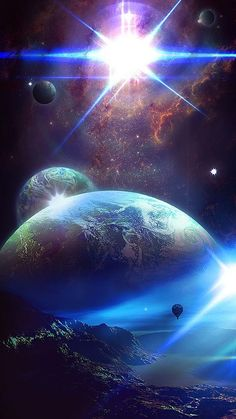 Parures housses de couette fantastique et science fiction there are many things in our planet stars galaxy cosmos astronomy telescope Wallpaper Earth, Planets Wallpaper, Wallpaper Space, Galaxy Wallpaper, Iphone Wallpaper, Screen Wallpaper, Space Planets, Space And Astronomy, Galaxy Space