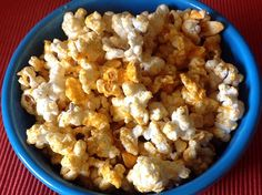 If you love cheese and popcorn, then you will quickly become addicted to this Cheddar Cheese Popcorn recipe. A great snack when in need of a salt fix!