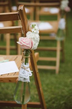 Southern Vintage Wedding at Lowndes Grove on Borrowed & Blue.  Photo Credit: Amelia + Dan