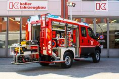 FF. Fire Equipment, Heavy Equipment, Sand In Taufers, Van Racking Systems, Firefighter Pictures, Cool Fire, Fire Doors, Water Party, Fire Apparatus