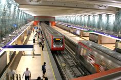 Santiago Metro is South America's most extensive metro system, Chile Latina, Underground Tube, Metro Subway, Rail Transport, South American Countries, U Bahn, Central Valley, Chili, Metro Station