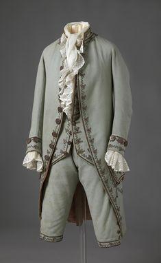 Suit 1780s Nasjonalmuseet for Kunst, Arketektur, og Design