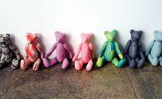 modern teddy bears.