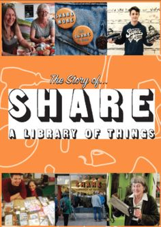 """Set-up """"SHARE - a library of Things"""" in your community - Edventure : Frome Booklet, Coaching, How To Find Out, Presentation, Love You, Community, Kit, Training, Te Amo"""