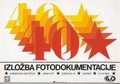 Documentary Photography Exhibition at the Zagreb City Museum – 1985 Poster design by Srećko Cvek