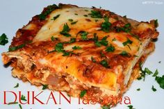 Dukan Lasagna | DUKAN DIET RECIPES