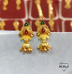 Gold Earrings Designs, Gold Jewellery Design, Gold Jewelry, Gold Necklace, Cutwork Blouse Designs, Kids Blouse Designs, Black Gold Chain, Gold Chains, Rangoli Kolam Designs